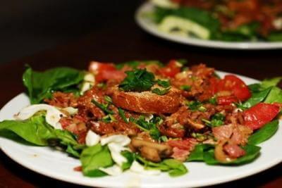 Recette salade de gésiers au poulet