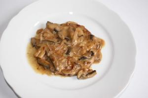 jambon sauce madere