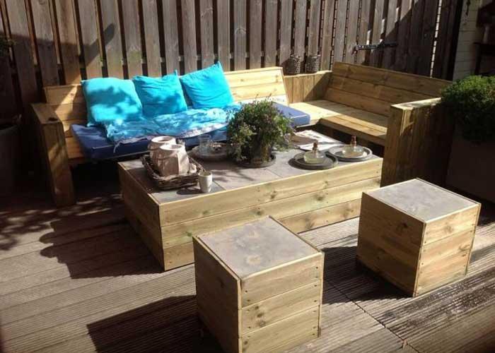 Construire une terrasse bois soi m u00eame Les masure fr # Construire Une Extension En Bois Soi Même