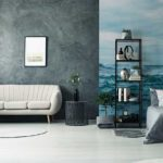 Studio-avec-papier-peint-paysage-mer