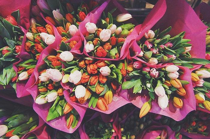occasions pour envoyer des fleurs du jardin
