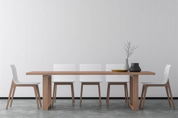 table à rallonge de salle à manger