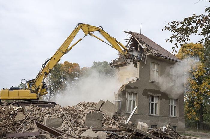 cout de la démolition d'une maison