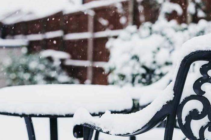 protéger le mobilier de jardin en hiver